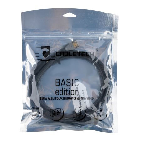 Kabel HDMI-HDMI 1.8m Cabletech Basic Edition - 1.4 - Kable HDMI - HDMI